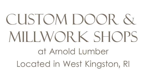 Quality Craftsmanship  sc 1 st  Arnold Lumber & Custom Door u0026 Mill Shop - Arnold Lumber