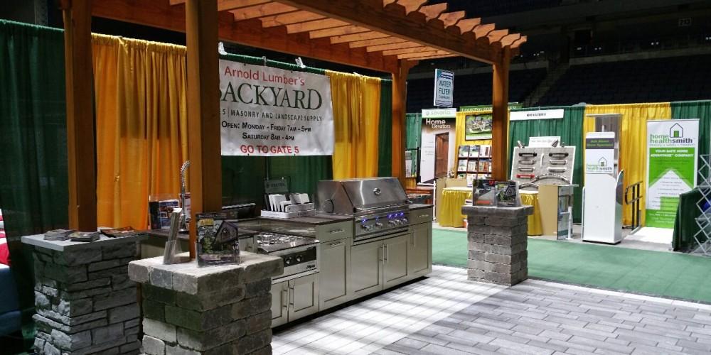 Arnold Lumber's BACKYARD and Kitchen Design Center bring a STUNNING on outdoor bbq design ideas, online kitchen design center, small kitchen design center,