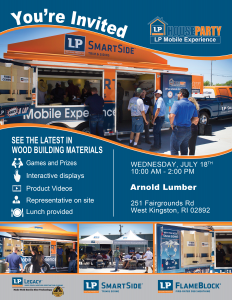 LP House Party @ Arnold Lumber Company  | South Kingstown | Rhode Island | United States