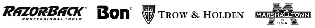 Masonry tool brands logos