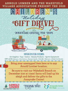 ALC Toy Drive Psoter